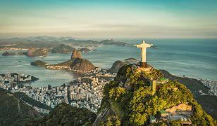 Wzgórze Corcovado ze słynną figurą Chrystusa to jeden z symboli Rio de Janeiro