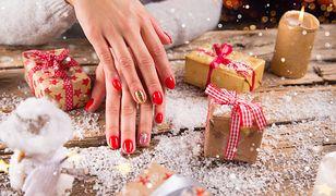 Modne paznokcie na święta