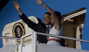 Obamowie wychowują dwie córki