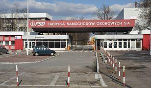 Główna brama FSO w Warszawie