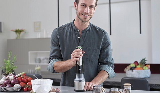 Blender w męskiej kuchni