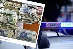Znaleźli stertę gotówki. Policja szuka właściciela