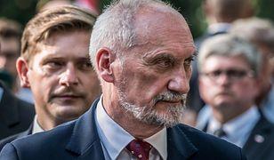 Na zdj. Antoni Macierewicz i Bartosz Kownacki