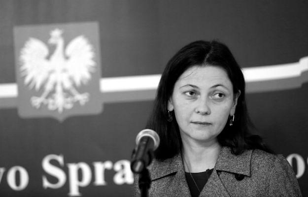Była wiceminister sprawiedliwości Monika Zbrojewska
