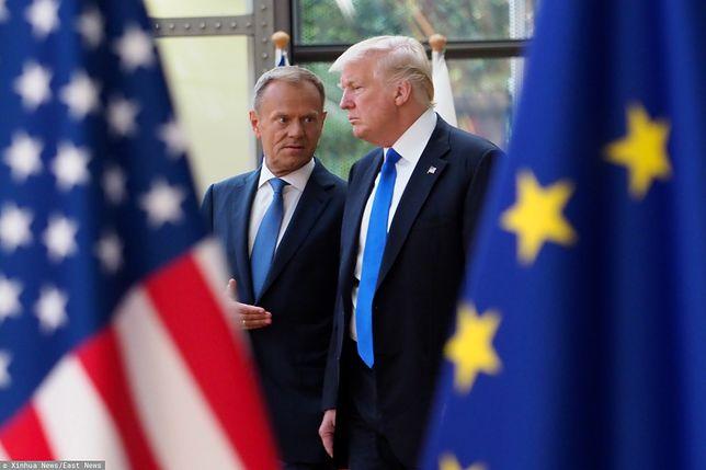 Donald Tusk i Donald Trump.