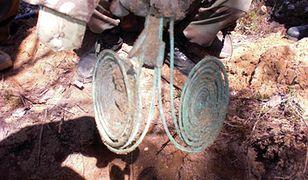 Skarb odkryty na poligonie w Wielkopolsce