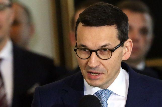 Mateusz Morawiecki chce zażegnać kryzys w stosunkach polsko-izraelskich