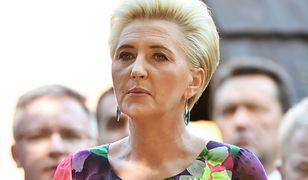 Dożynki prezydenckie w Spale. Agata Kornhauser-Duda znów się wyróżniała