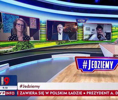 Jakubiak grzmiał w TVP. Już kiedyś chciał wystawić Niemcom fakturę za Warszawę