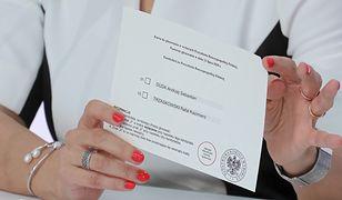 Wybory 2020. Karta do głosowania w wyborach prezydenckich
