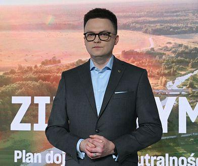 Szymon Hołownia politycznym kłusownikiem? Komentarz z KO go nie ucieszy