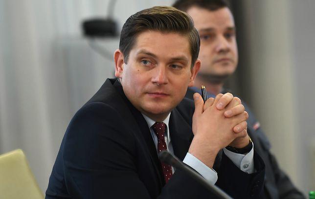 W styczniu Bartosz Kownacki przestał być sekretarzem stanu w MON