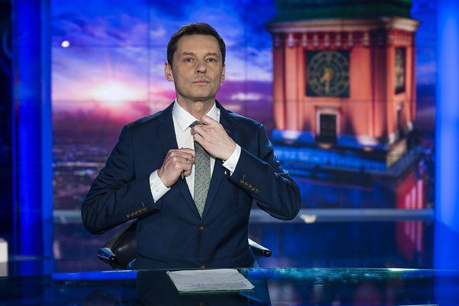 Krzysztof Ziemiec skierował rozmowę na inne tory