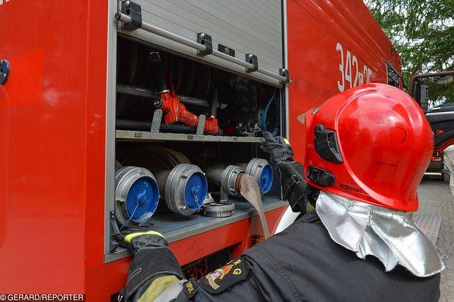 Wybuch gazu w kamienicy w Kędzierzynie- Koźlu. Trwa akcja ratownicza