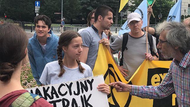 Wakacyjny strajk klimatyczny przed Sejmem