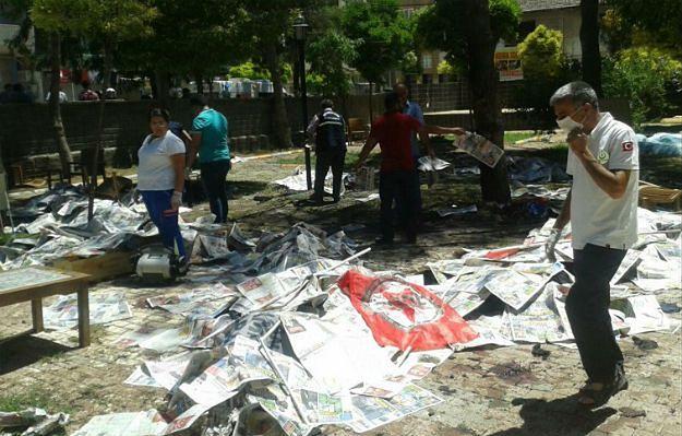 Turcja: zamach terrorystyczny w mieście Suruc, 30 osób nie żyje
