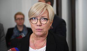 Julia Przyłębska, prezes TK komentuje list sędziów Trybunału