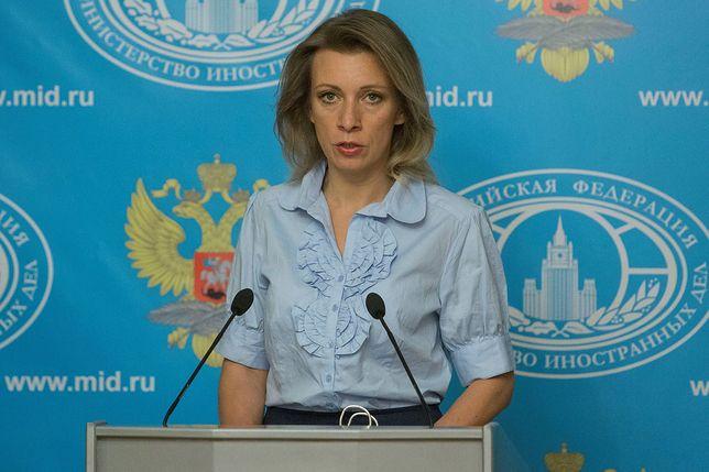 Maria Zacharowa wypowiedziała się jednoznacznie