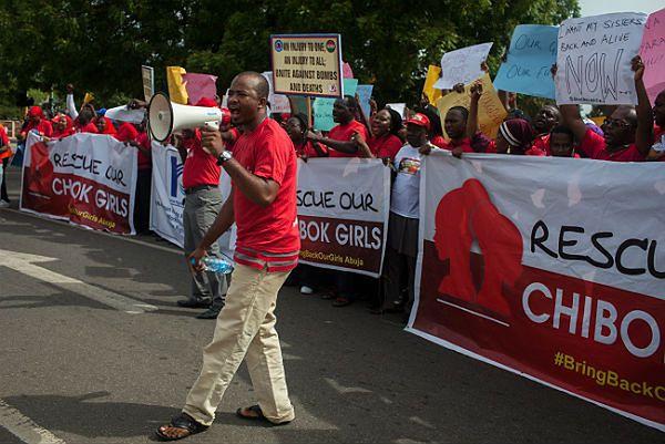 Demonstracja w Nigerii ws. uwolnienia porwanych dziewczynek