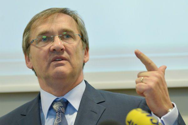 Prezes Naczelnej Rady Lekarskiej dr Maciej Hamankiewicz