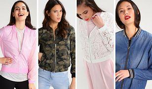 Bomberka z tiulu, bomberka moro, bomberka z koronki, bomberka jeansowa - to najmniejsze modele bomber jacket na lato