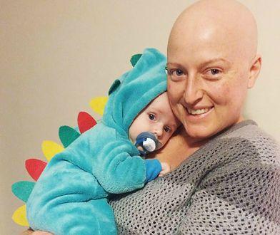 Farrah w trakcie chemioterapii, lipiec 2016.