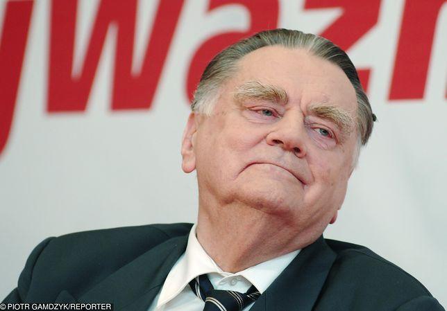Jan Olszewski zmarł w lutym.
