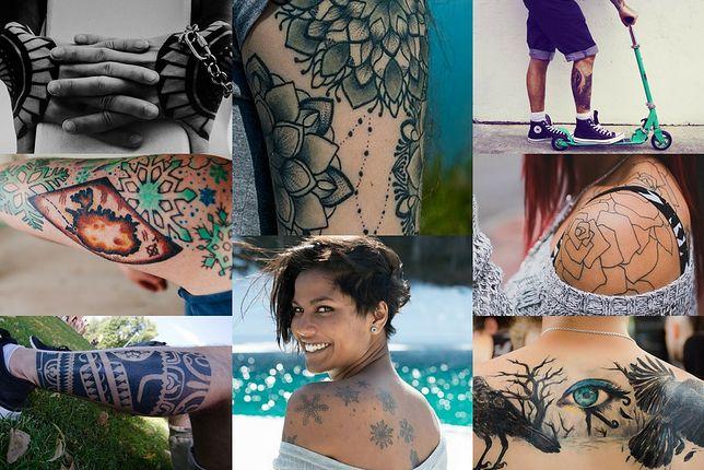 Przykładowe wzory do tatuaży