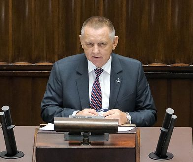 Debata nad NIK. Marian Banaś uderza w marszałek Witek