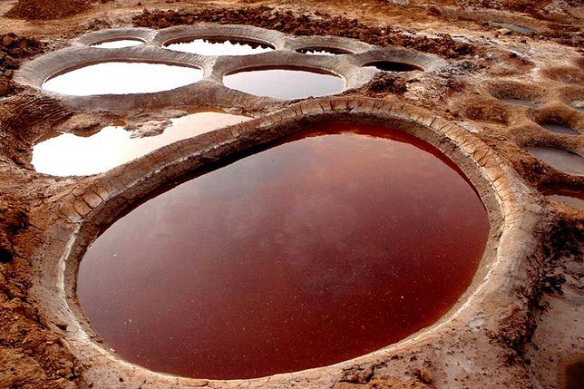 Jedyne na świecie stawy solankowe w Teguidda-n-Tessoumt