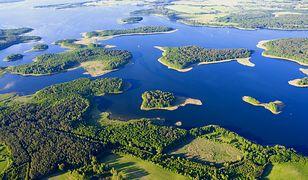Największe akweny Krainy Wielkich Jezior Mazurskich
