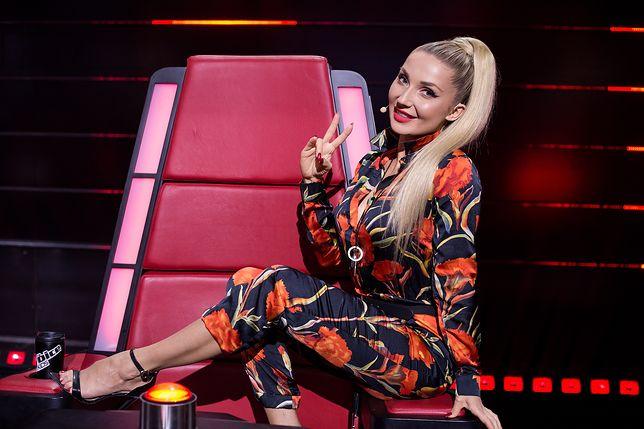 """Cleo gorąco kibicuje swojej drużynie w """"The Voice Kids"""""""