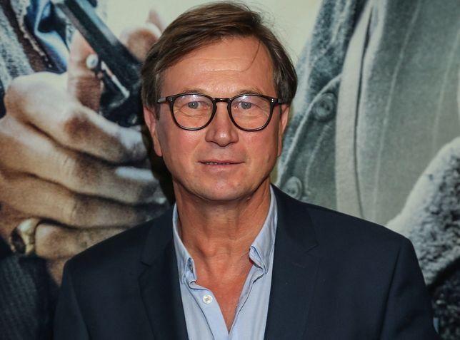 """Piotr Cyrwus zerwał w wizerunkiem Rysia z """"Klanu""""."""