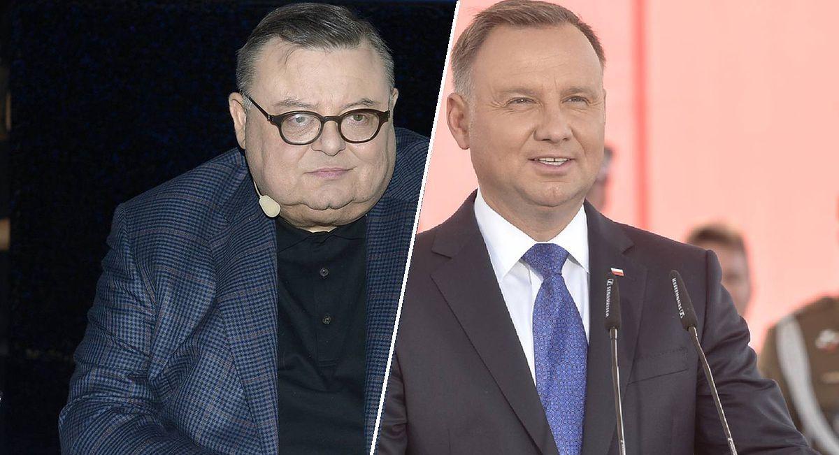 Wojciech Mann zadrwił na antenie RNŚ z prezydenta Andrzeja Dudy. W Trójce nie mógłby sobie na to pozwolić