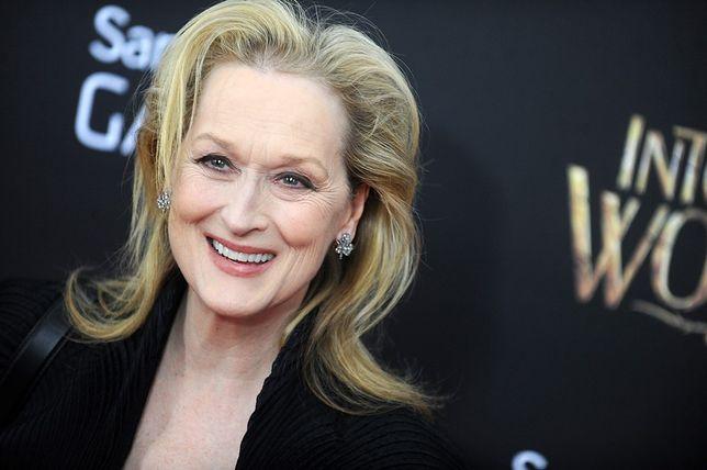 Meryl Streep nosi na torebce... Michelle i Baracka Obamów