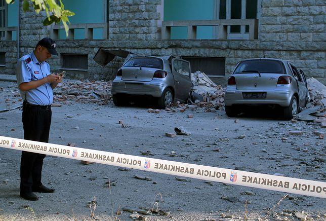 Albania. Silne trzęsienie ziemi, na miejscu są Polacy. Polskie MSZ wydało komunikat