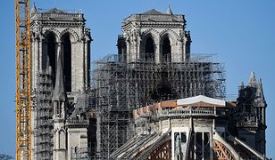 Paryż. Odbudowa Notre Dame pod znakiem zapytania. Katedra może nie zostać uratowana