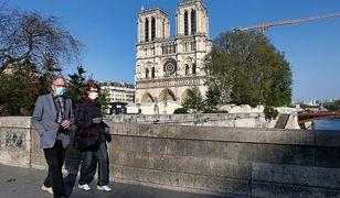 Koronawirus. Francja. Wstrzymane prace nad odbudową Notre-Dame. Zabrzmi dzwon Emmanuel