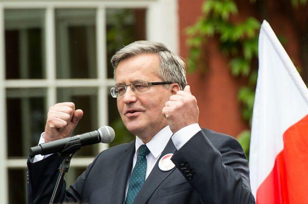Bronisław Komorowski: projekt ustawy - 40 lat pracy będzie uprawniać do emerytury