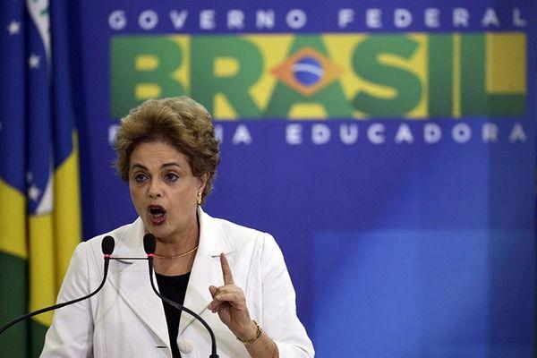 Rousseff oskarża wiceprezydenta o spiskowanie przeciw niej