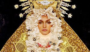 Arkadius na London Fashion Week w 2001 roku