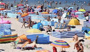 Rekordowe temperatury Morza Bałtyckiego