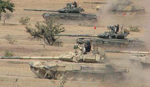 Indyjskie czołgi T-90
