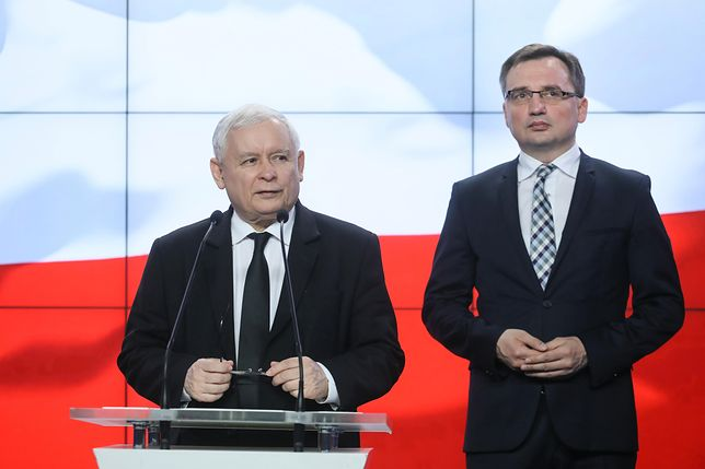 Ziobro nie wyobraża sobie, by Kaczyński mógł odejść z polityki
