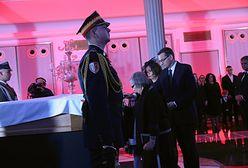 Pogrzeb Kornela Morawieckiego. Marta Morawiecka: Dobrze, że spoczną obok siebie