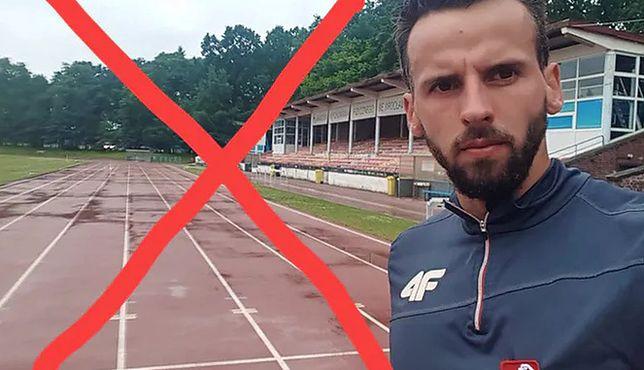 Wrocław. Ogromne kłopoty ze Stadionem Olimpijskim. Sportowiec Łukasz Krawczuk poskarżył się na FB, że nie może trenować