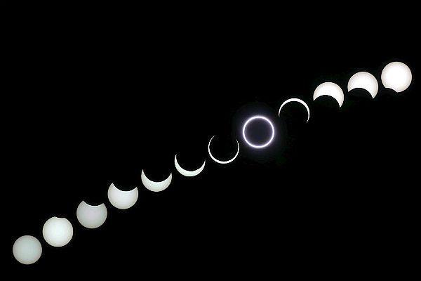 Świetlana obręcz ukaże się na niebie - niedługo obrączkowe zaćmienie Słońca