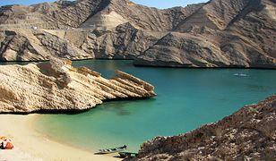 Oman zachwyca możliwościami kąpieli z obłędnym widokiem
