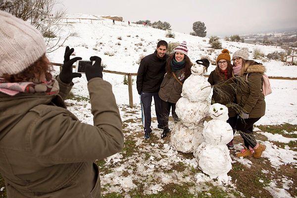 Hiszpania: po raz pierwszy od wieku śnieg pada pod Alicante