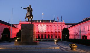 Tajemnice Pałacu Prezydenckiego. Tak Pałac Prezydencki wyglądał w 2013 roku z okazji Święta Wojska Polskiego